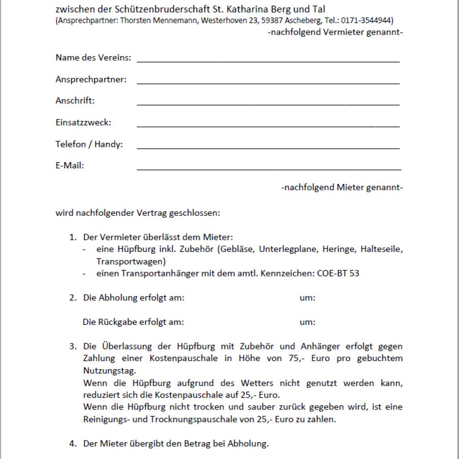 Mietvertrag Seite 1